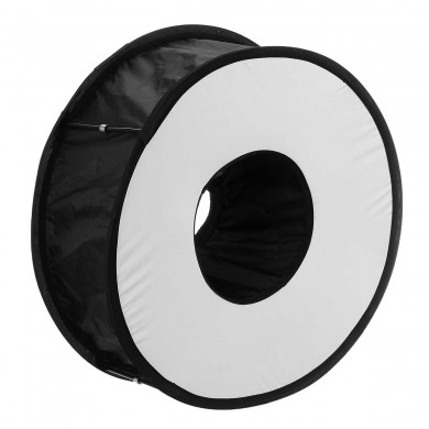 45CM Ring Macro Shoot Softbox Diffuser for Canon Nikon Nissin Metz Godox SpeedLite Flash Light