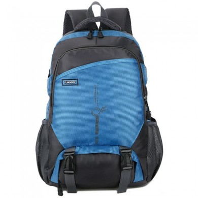 Nylon Waterproof Outdoor Casual Travel Multi-Pocket Backpack