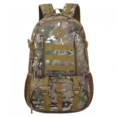Men 50L Oxford Large Capacity Camouflage Backpack