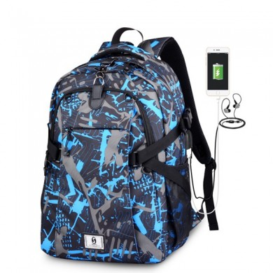 Hombre al aire libre Casual Sport Backpack Basketball Bolsa
