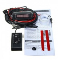 U302 LED Electromagnetic Auto Car Parking Reversing Reverse Backup Radar Sensor Alarm