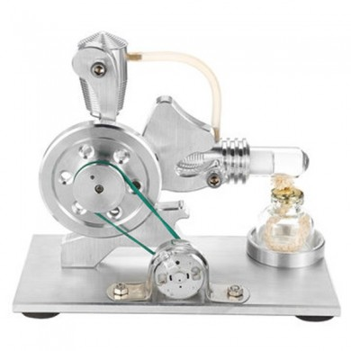 STEMPO DIY Mini Stirling Engine Generator Motor Modello educativo a vapore giocattolo