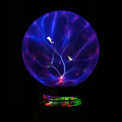 5 Pollici Music Plasma Ball Sphere Light Crystal Light Magia Desk lampada Novità Bule Light Home Decor