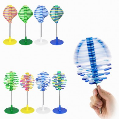 Lollipop girevole Creative Decompression Art Lollipopter Helicone Giocattoli per bambini Scrivania Decor