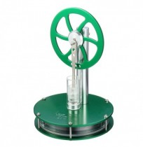 Low Temperature Difference Hot Air Stirling Engine Colorful STEM Model Physics Experiment