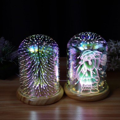 Fuochi d'artificio Plasma Ball Led Cube Pokemon Novita LED Luci Mobili Cup Desk lampada