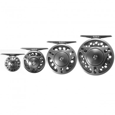 ZANLURE 4/5/6/7 WT CNC-Machined Fly Fishing Reel Aluminum Fishing Gear Flywheel Left Right Handed