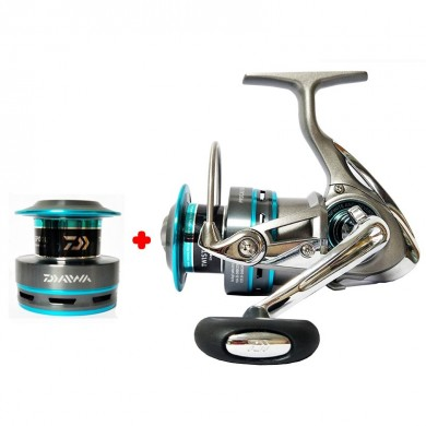 DAIWA PROCASTER A 2000A 2500A 3000A 4000A Spinning Fishing Reels Double Metal Spool 7BB Saltwater Carp Feeder Fishing Pesca