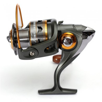 DK11BB Ball Bearings Left Right Interchangeable Collapsible Handle Carp Spinning Fishing Reel