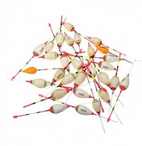 ZANLURE Bobber Fishing Floats Shrimp Balsa Wooden Fishing Accessories