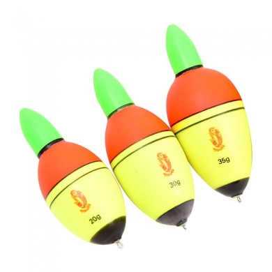 ZANLURE Night Lighting Fishing Float EVA Electronic Light with 2 Button Cells Pesca Tackle Tools