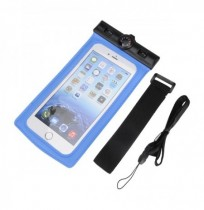 Waterproof Sealed Pouch Dry Bag Case With Thermometer Strap Arm Band For Mobile Phone