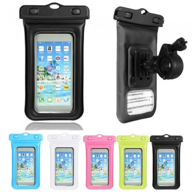 Universal Sealed Waterproof Phone Bag Cycling Holder For 6-6.5 Inch