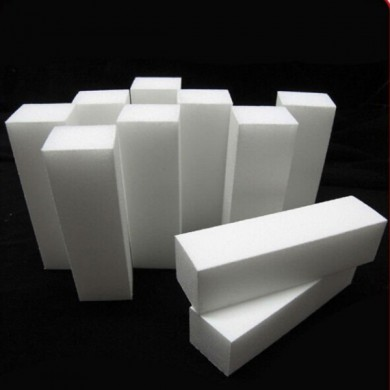 White Nail Art Buffer Buffing Sanding Files Block