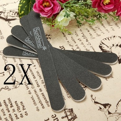 10 pcs Sanding Nail Art File Buffer Salon Glitter Tools Sandpaper
