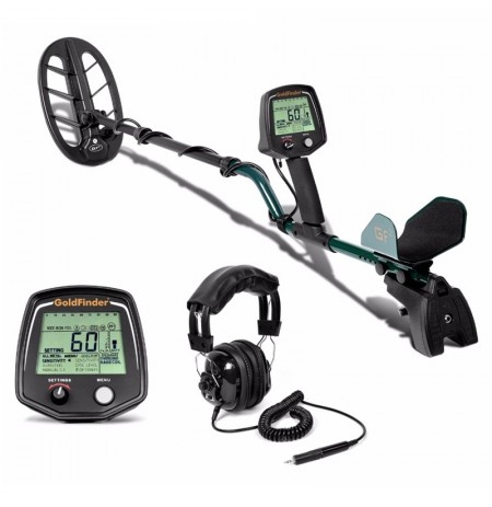 GF2 Underground Metal Detector Treasure Hunter Gold Digger LCD Display Headphone Ultra Sensitivity