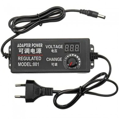 9 - 24V 3A 72W AC / DC Adjustable Power Adapter