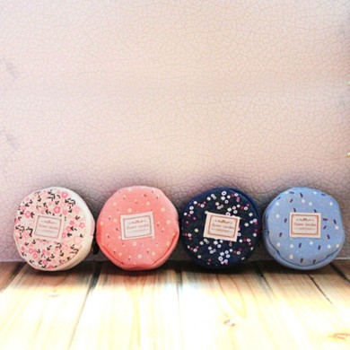 Mini Circular Change Purse