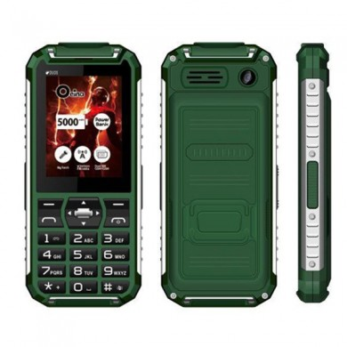 XP6000 2.4 Inch 2500mAh 2030 SPK Torches Powerbank Waterproof Long Standby Outdoor Mobile Phone
