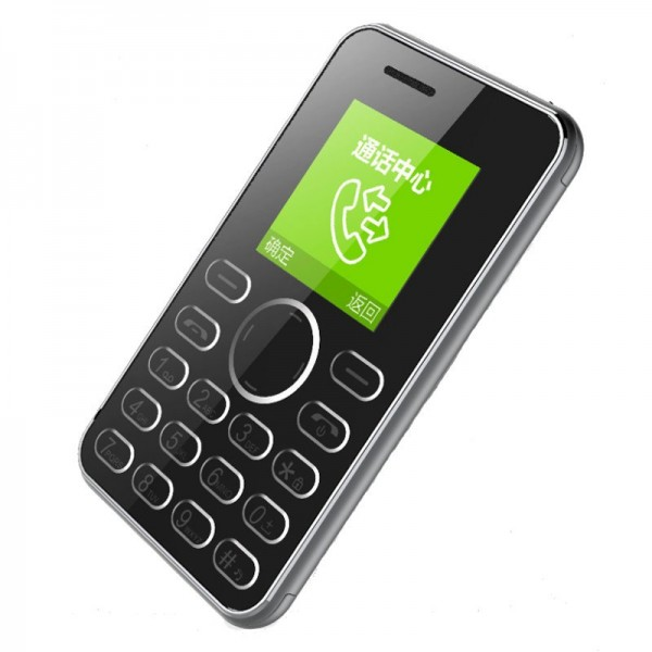 AEKU I9 1.54-Inch TFT 420 mAh Long Standby Ultra Thin Mini Card Cell Phone