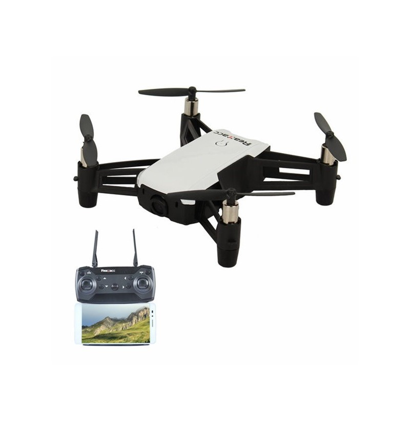 Realacc R20 WiFi FPV With 2MP 720P Wide Angle Camera Altitude Hold RC Drone Quadcopter RTF (Color: Black, Battery: Three Batteries) фото