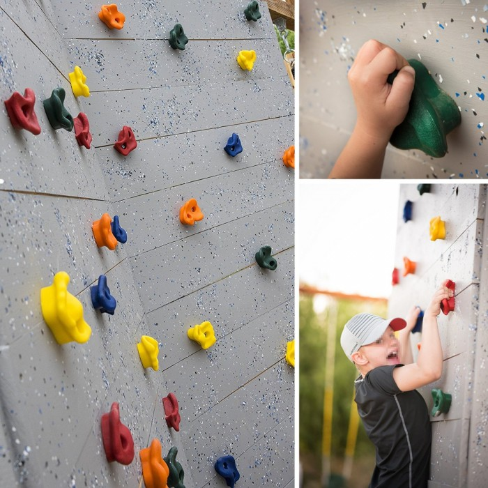 Textured Climbing Holds Rock Wall Stones Holds Grip For Kids Indoor Outdoor