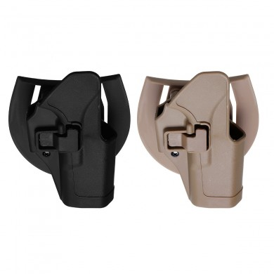 Quick Tactical Right Hand Wrist Holster Paddle Belt For GLOCK 17/22/31