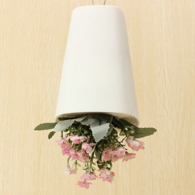 Home Garden Decor Sky Planter Hanging Flower Pot Upside Down Plant Pot
