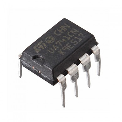 10Pcs UA741CN DIP-8 UA741 LM741 ST IC Chip Operational Amplifiers