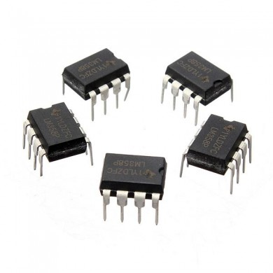 5 PC lm358p LM358N LM358 DIP-8 chip IC amplificador operacional dual