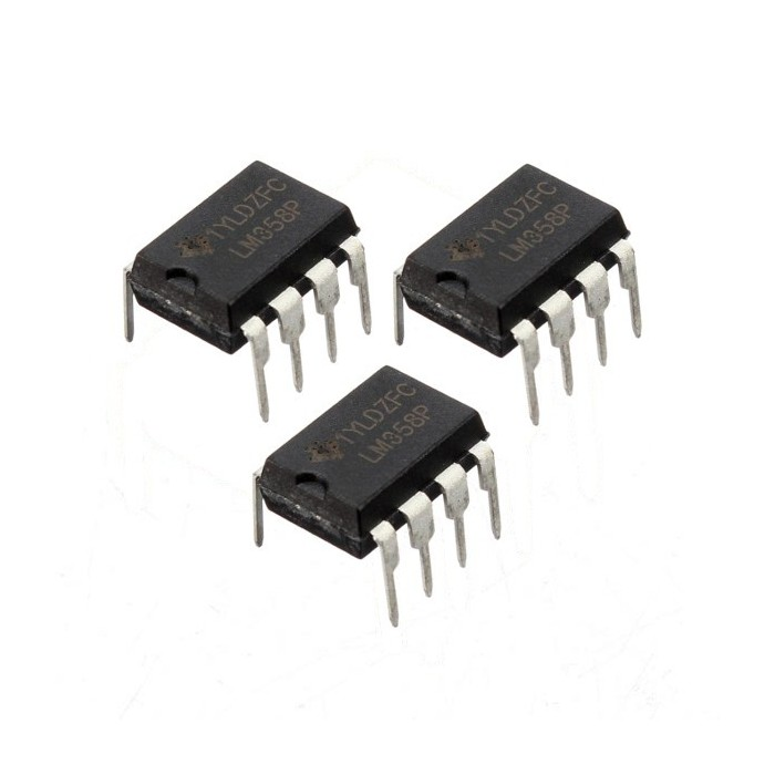 3 PC lm358p LM358N LM358 DIP-8 chip IC amplificador operacional dual