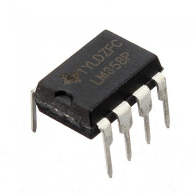 20 PC LM358P LM358N LM358 DIP-8-Chip IC Dual Operationsverstärker