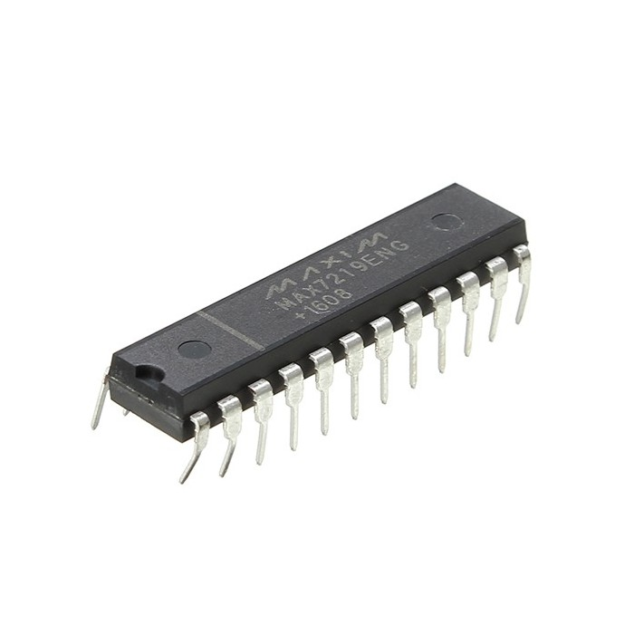 1Pc IC MAX7219 PMIC DIP-24 Pin 8 Bit LED Display Driver