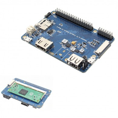 CM3 / CM3Lite IO Expansion Board For Raspberry Pi Computer Module