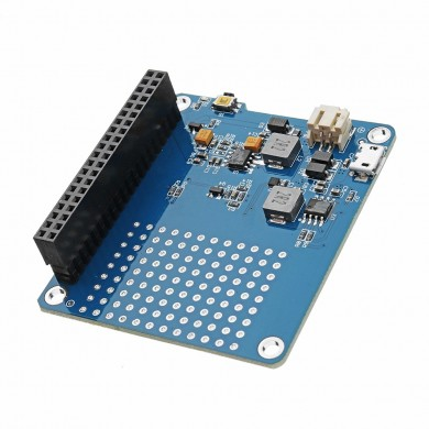 Power Pack Pro UPS HAT Lithium Battery Expansion Board For Raspberry Pi Charging