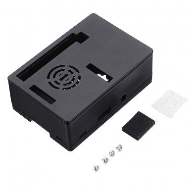 3.5 inch Protective Enclosure Case Support Dispaly Screen or Cooling Fan For Raspberry Pi 3B+/3B/2B