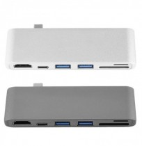 High Definition Multimedia Inte Hub PD HUB TYPE C К USB3.0 HUB USB3.1 Поддержка SD и TF Card Reader