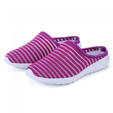 Женское Mesh Breathable Casual Hollow Out Summer Slipper Сандалии