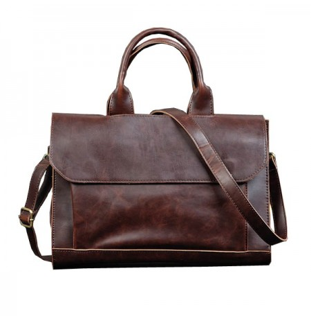 Men Shoulder Handbag Business Computer Briefcase