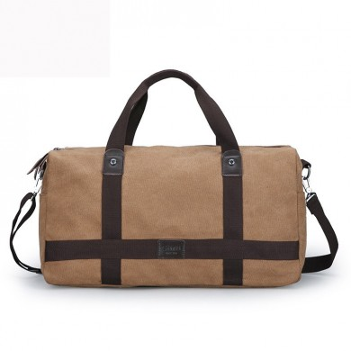 Men Canvas Outdoor Travel Messenger Bag Business Handbag
