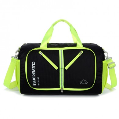 Men Women Nylon Waterproof Handbag Gyms Bag Travel Bag