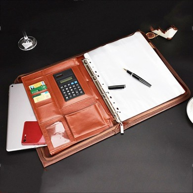 Multi-function Folder Zipper Briefcase Portable File Holder