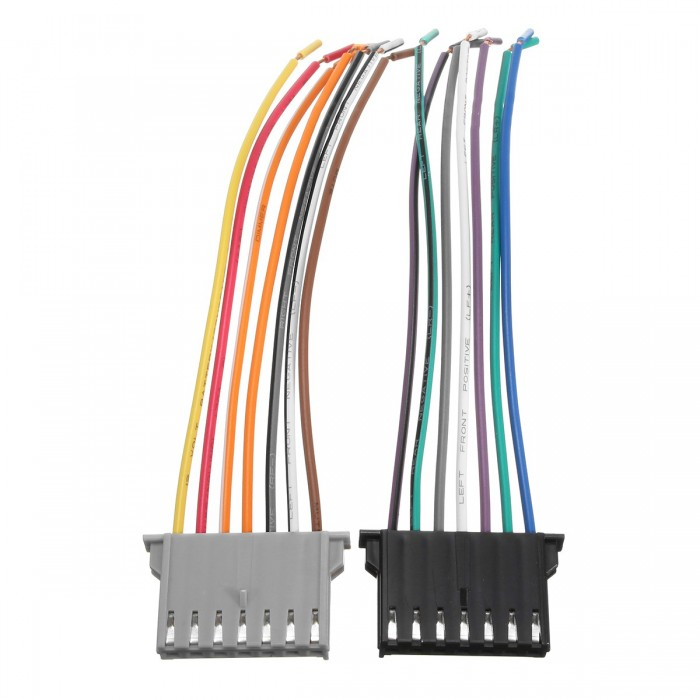 Chrysler Dodge Jeep Car Stereo Cd Player Wiring Harness Wire Adapter Plug For Aftermarket Radio from www.teknistore.com