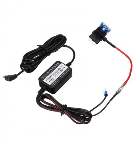 Micro USB Coche DVR Exclusive Power Caja Cargador Adaptador Hard Alambre Kit convertidor