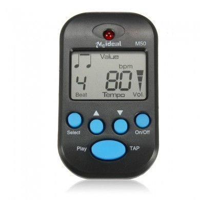 LCD Digital Beat Tempo Mini Musical Counting Metronome