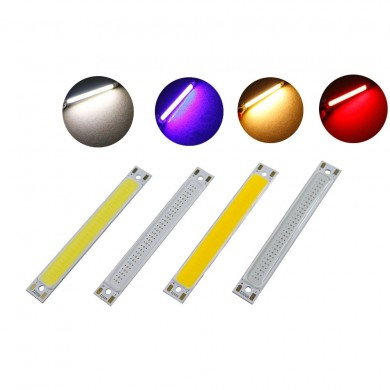 5 pz 1 W 3 W LED COB lampada Chip Module Bar Strip 60x8mm per DIY Sorgente Luminosa DC2-2.6V / DC3-3.7 V