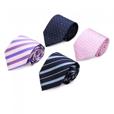 Mens Business Arrow Tie Sets Tie Clips Cufflinks Kerchief Gift Series