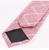 Mens Cotton Plaid Ties Casual Business Wedding Party Neckties