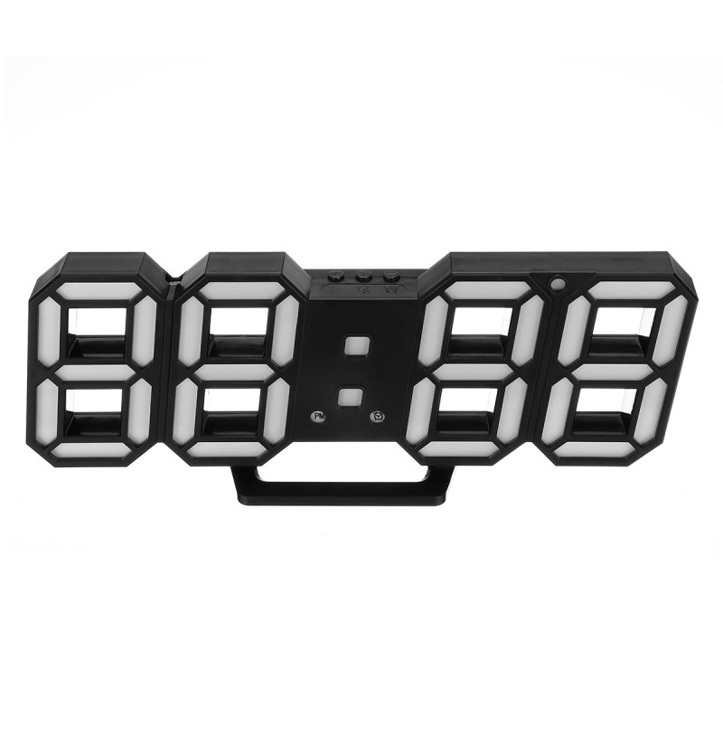 Large Modern Design Digital Led Wall Clock Watches 24 Or 12