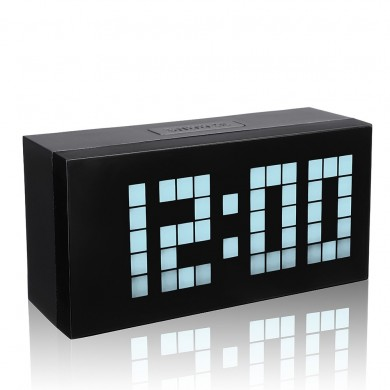 Großes Display Große Weckerzeit Moderner Wecker Smart Clock Countdown Digital Snooze Clock
